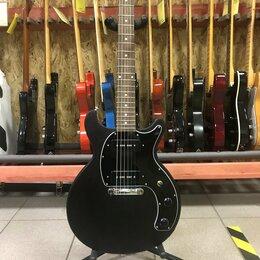 Электрогитары и бас-гитары - Электрогитара Gibson Les Paul Special Tribute DC P90 Worn Ebony Gigbag USA 2019, 0