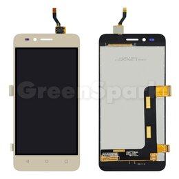 Дисплеи и тачскрины - Дисплей для Huawei Y3 II 3G (LUA-U22/LUA-U03/LUA-U23) + тачскрин (золото), 0