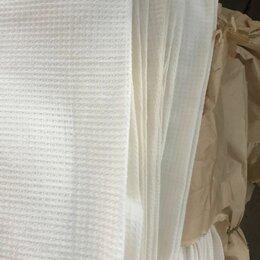 Полотенца - Полотенца вафельные белые большой объем, 0