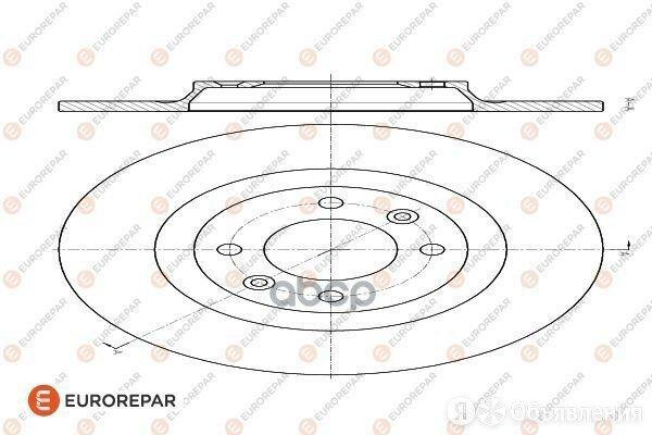Диск Тормозной Citroen C4 Ii (B7) 09> EUROREPAR арт. 1618864880 по цене 1830₽ - Тормозная система , фото 0