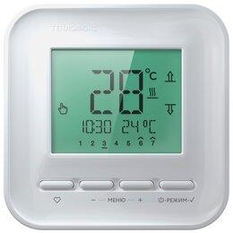 Электрический теплый пол и терморегуляторы - Теплолюкс Терморегулятор Теплолюкс 515 ЖК дисплей белый непрограмируемый, 0