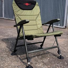 Походная мебель - Карповое кресло с подставкой под ноги, 0