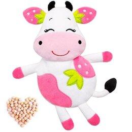 Игрушки - Развивающая игрушка-грелка 'Клубничная Корова', 0
