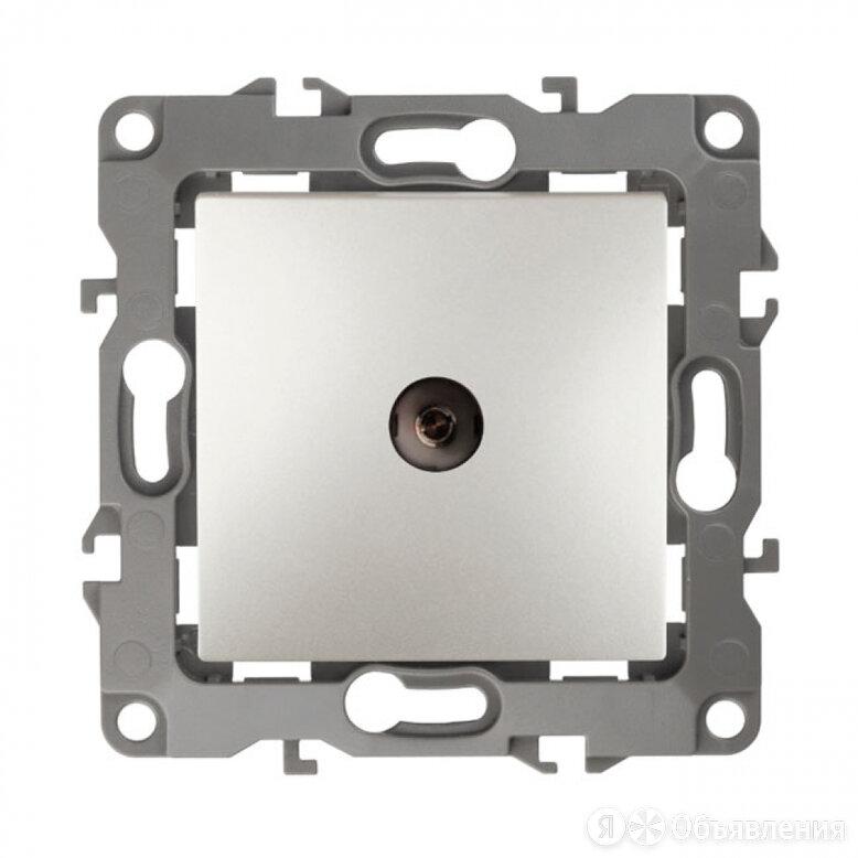 Проходная tv розетка ЭРА 12310215 Б0027440 по цене 535₽ - Электроустановочные изделия, фото 0
