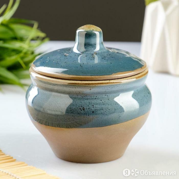 Горшочек для запекания 'Мечта хозяйки' блю чиз, 0,25 л по цене 664₽ - Посуда для выпечки и запекания, фото 0