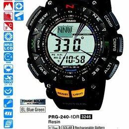 Наручные часы - Casio PRG-240 часы с компасом, барометром, термометром. , 0