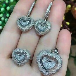 Комплекты - Chopard серебряный комплект, 0