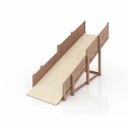 """Игрушечная мебель и бытовая техника - Зимняя деревянная игровая горка савушка """"зима"""" - 1, 0"""