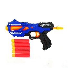Игрушечное оружие и бластеры - Бластер «Локи», стреляет мягкими пулями 4264097, 0