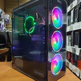 Настольные компьютеры - Компьютер игр Intel Core i3-10100F/16Гб/SSD/5500XT, 0