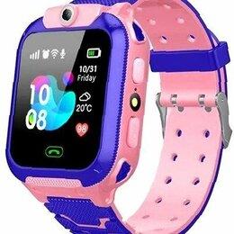 """Умные часы и браслеты - Смарт-часы детские """"q12"""" розовые, 0"""