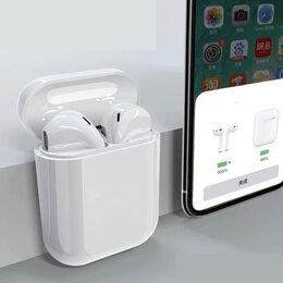 Наушники и Bluetooth-гарнитуры - Наушники беспроводные apple airpods 1,удобные беспроводные наушники., 0
