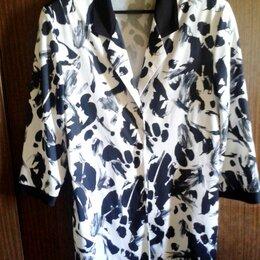 Жакеты - пиджак жакет женский шелковый р.48 Финляндия, 0