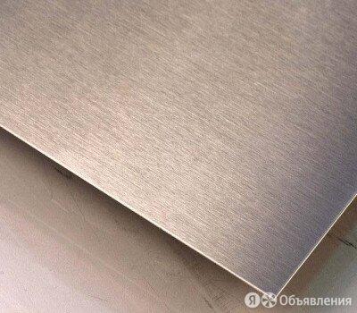 Лист нержавеющий 20х1500х3000 мм 03Х17Н13М2 по цене 235₽ - Металлопрокат, фото 0