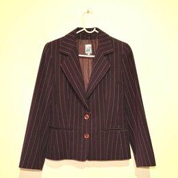 Пиджаки - Пиджак женский бордовый, 42-44 размер, 0