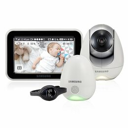 Радио- и видеоняни -  Видеоняня Samsung SEW-3057WP, 0