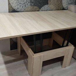Столы и столики - Журнальный стол-книжка трансформер, 0