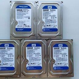 Жёсткие диски и SSD - Жесткий диск WD Blue 500 GB HDD для компьютера пк, 0