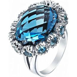 Кольца и перстни - Element47 кольцо серебро вес 6,59 вставка фианит, аметист арт. 742044, 0