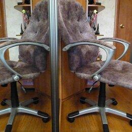 Компьютерные кресла - Кресло Руководителя новый велюр Tucson 02, 0