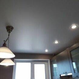 Потолки и комплектующие - Матовый потолок в дом с установкой и профилем, 0
