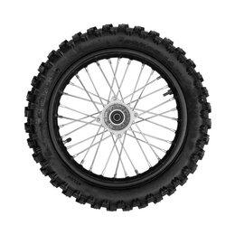 Обода и велосипедные колёса в сборе - Колесо заднее 90/100-14 в сборе, питбайк, 0