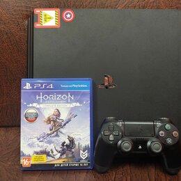 Игровые приставки - Sony Playstation 4 pro 1 tb диск джойстик, 0