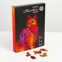 Пазлы - Пазлы «Таинственная кошка», 0