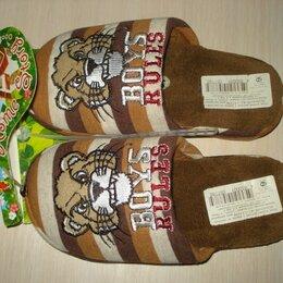 Домашняя обувь - Тапочки детские новые, 0
