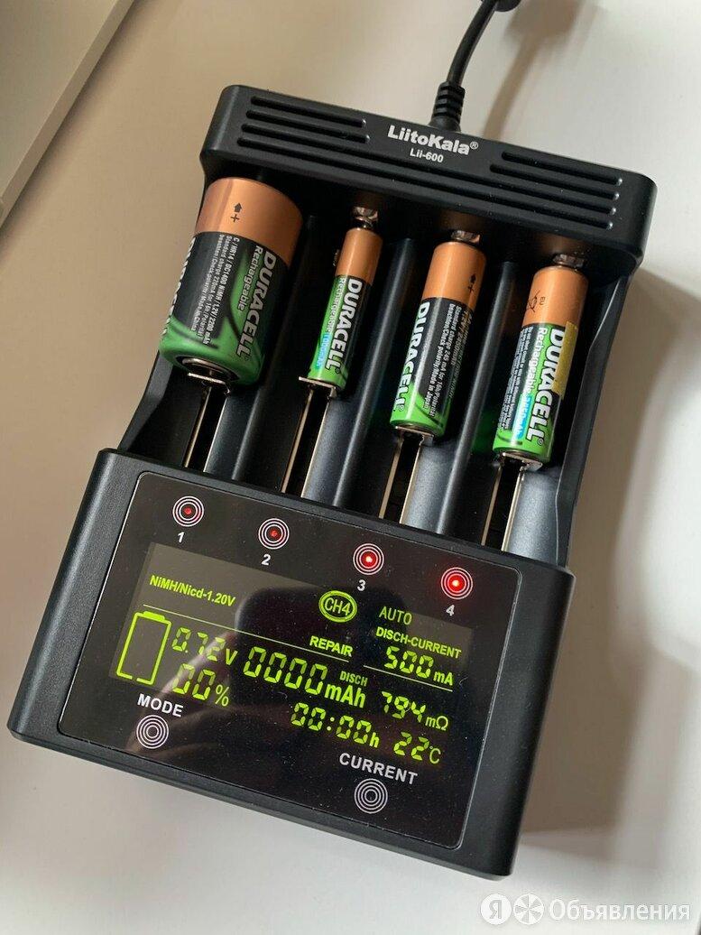Зарядное устройство LiitoKala Lii-600 по цене 3000₽ - Зарядные устройства и адаптеры питания, фото 0