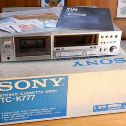 Музыкальные центры,  магнитофоны, магнитолы - Sony tc k777 , 0