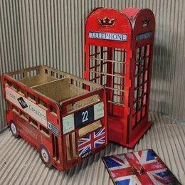 Подарочные наборы - Телефонная будка и красный автобус на вашей кухне, 0