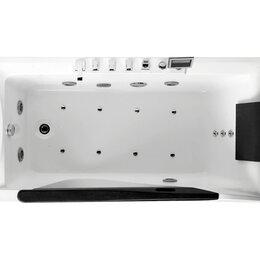 Гидромассажеры - Гидромассажная угловая ванна Gemy G9055 K L (1810х920х750) со вставкой из про..., 0