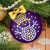 Шар для декорирования стразами «Волшебный», цвет фиолетовый по цене 215₽ - Рукоделие, поделки и сопутствующие товары, фото 5