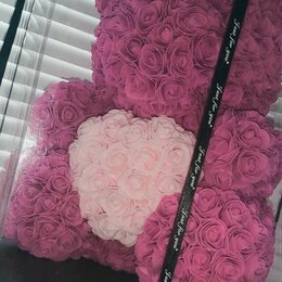 Подарочные наборы - Медведь из роз , 0