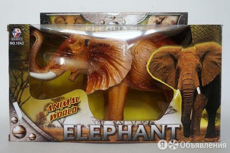 Игрушка Слон (ходит, музыка) по цене 950₽ - Мягкие игрушки, фото 0