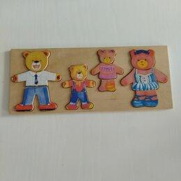 Развивающие игрушки - Деревянные пазлы, 0