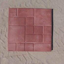 Садовые дорожки и покрытия - Плитка полимерпесчаная 330х330х22(ассорти), 0