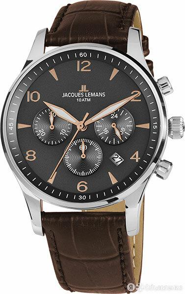 Наручные часы Jacques Lemans 1-1654ZK по цене 15370₽ - Наручные часы, фото 0