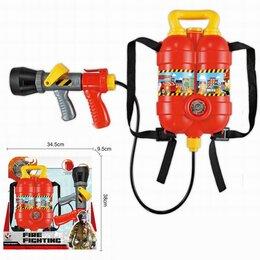 Игрушечное оружие и бластеры - Пистолет водный 996 с рюкзаком в коробке, 0