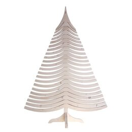 Ёлки живые - Ель дизайнерская Albert, белая, 100 см, 0