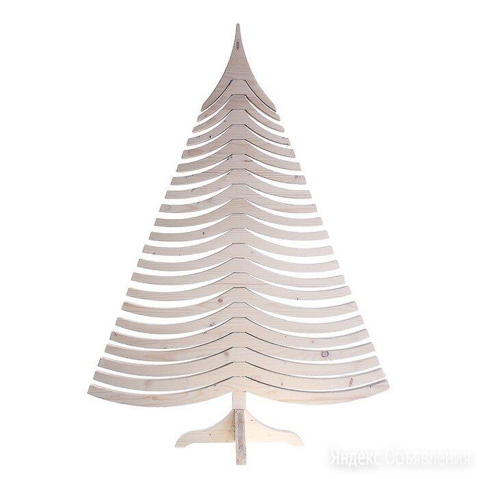 Ель дизайнерская Albert, белая, 100 см по цене 7150₽ - Новогодний декор и аксессуары, фото 0