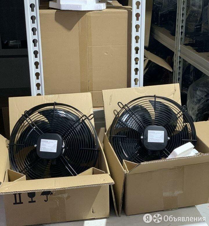 Вентилятор осевой с решеткой 220 В и 380 В по цене 3468₽ - Промышленное климатическое оборудование, фото 0