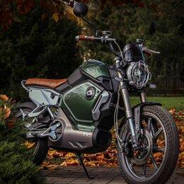Мото- и электротранспорт - Электромотоцикл super soco tc max 3000w, 0