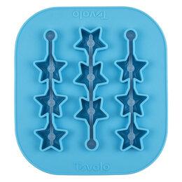 Формы для льда и десертов - Форма силиконовая для льда на палочке Tovolo Звёздочки 16х15 см, 0