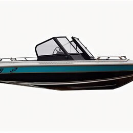 Моторные лодки и катера - Катер Wellboat NewStyle 434 двухконсольная (, Комплектация 3, , без мотора), 0