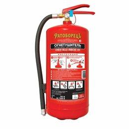 Противопожарное оборудование и комплектующие - Воздушно-эмульсионный огнетушитель Ратоборецъ ОВЭ-6 з-АВСЕ, 0