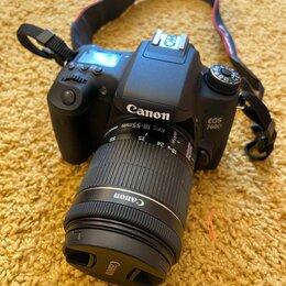 Фотоаппараты - Зеркальный фотоаппарат Canon 760D, 18-55mm. Японец., 0