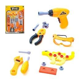 Детские наборы инструментов - Набор инструментов «Спинозавр», с разборной фигуркой, 0