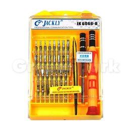 Отвертки - Набор отверток Jackly JK-6066B (33 в 1), 0